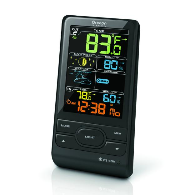 Station Météo+ écran couleur avec prévisions météorologique et alerte gel