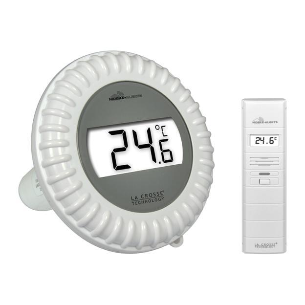 Kit Piscine Connecté : Sonde de piscine + Capteur thermo hygromètre